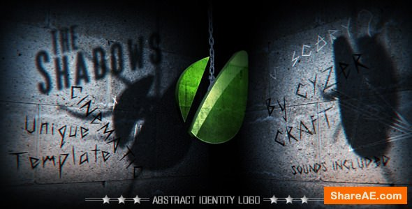 Videohive The Shadows Monster - Scary Horror Logo or Title