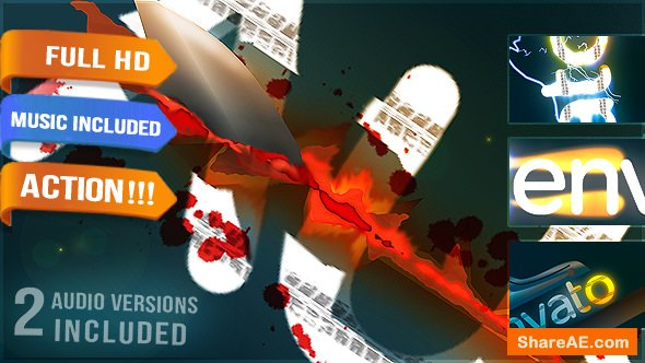 Videohive Film Game Production Logo Title