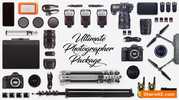 Videohive Ultimate Photographer Package