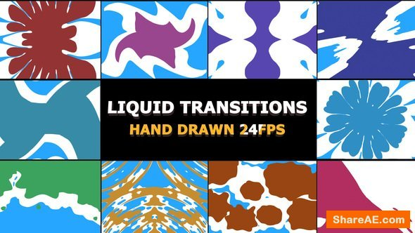 Videohive liquid Transitions Pack 22658572 » free after effects