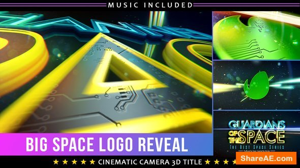 Videohive Space Show Logo Title