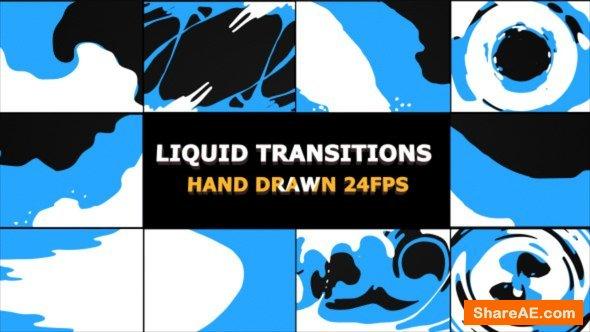 Videohive Liquid Transitions 22176527