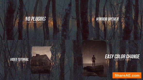 Videohive Horror Opener Titles