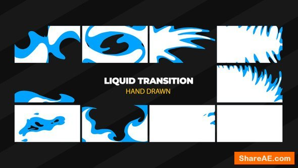Videohive Hand Drawn Transitions