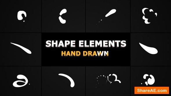 Videohive Shape Elements 21307130