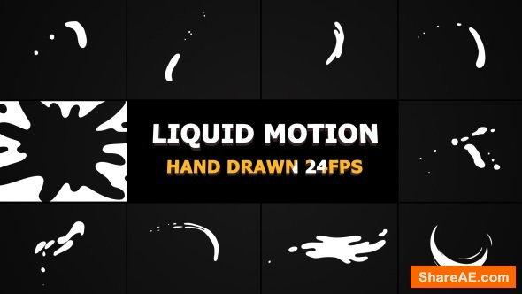 Videohive Liquid Motion Shapes