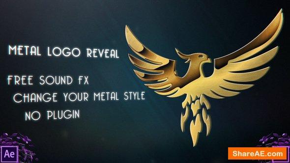 Videohive Metal Logo Reveal - Premiere Pro