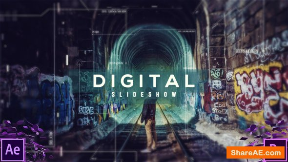 Videohive Digital Slideshow - Premiere Pro