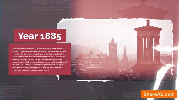 Videohive Moments Of History