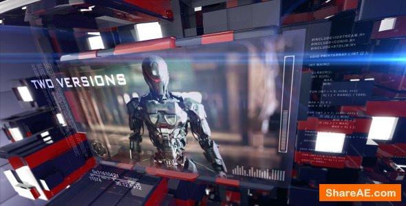 Videohive 3D Sci-Fi Technology