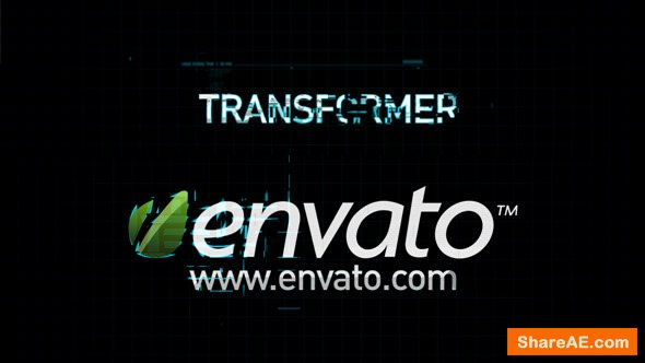 Videohive Transform Logo Reveal » free after effects templates