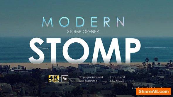 Videohive Modern Stomp Opener