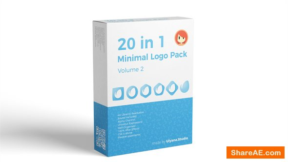 Videohive 20 in 1 Minimal Logo Pack (vol.2)