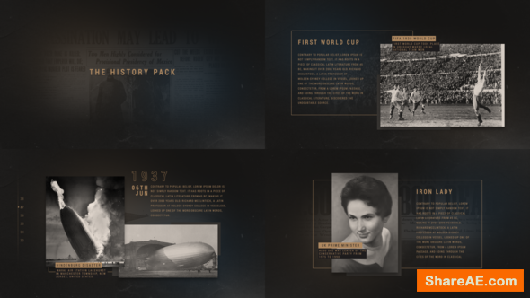 Videohive The History Pack