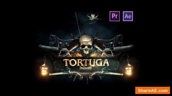 Videohive Epic Pirate Logo - Premiere Pro