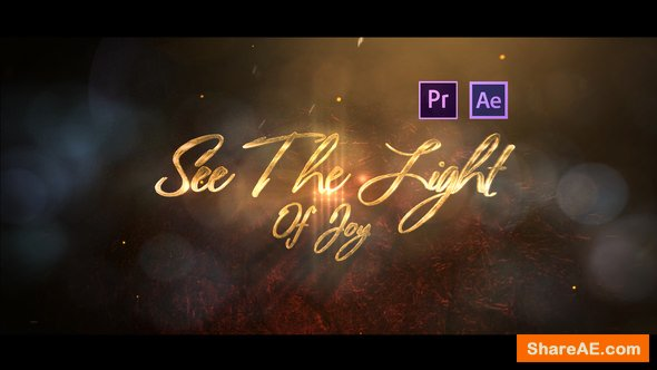 Videohive Romantic Greeting Titles - Premiere Pro