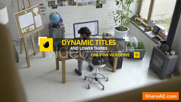 Videohive Dynamic Titles and Lower Thirds