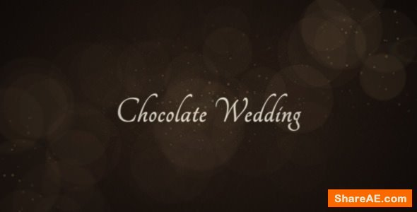 Videohive Chocolate Wedding