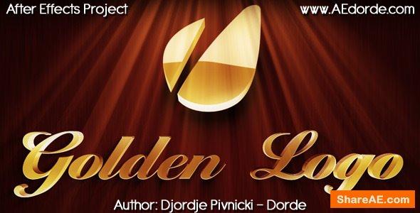 Videohive Golden Logo