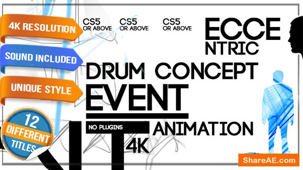 Videohive Weird Concept - Artistic Festival Event Opener