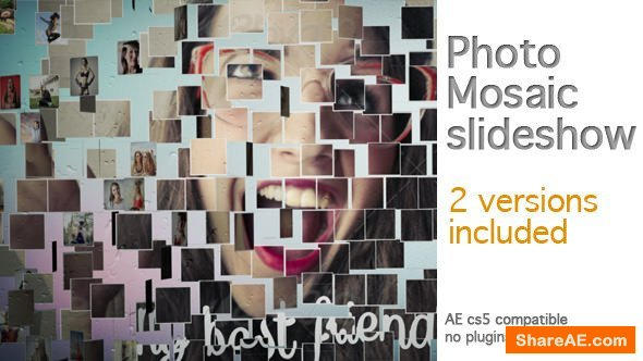 Videohive Photo Mosaic Slideshow 8100586