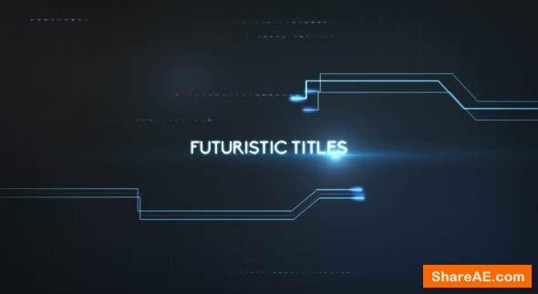 Videohive Futuristic Titles