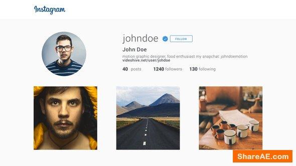 Videohive Short Instagram Promotion