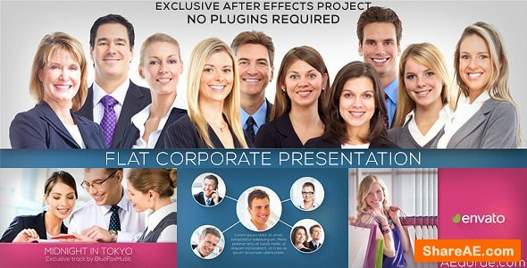 Videohive Flat Corporate Presentation