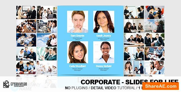 Videohive Corporate - Slides For Life