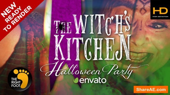 Videohive Halloween Witch's Party