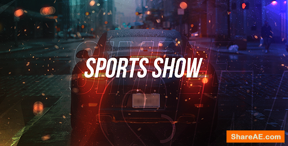 Videohive Simple Sports Show
