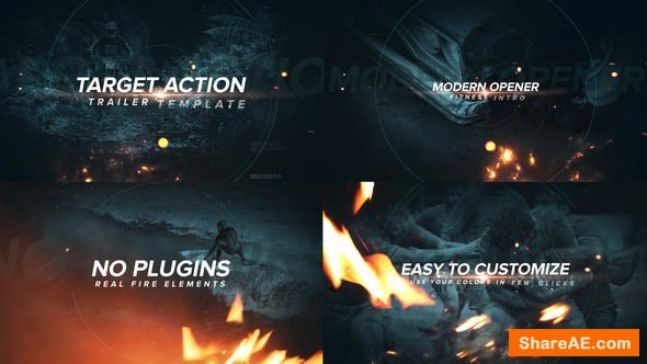 Videohive Target Action Trailer