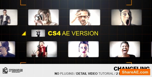 Videohive Changeling Creative Portfolio Showcase
