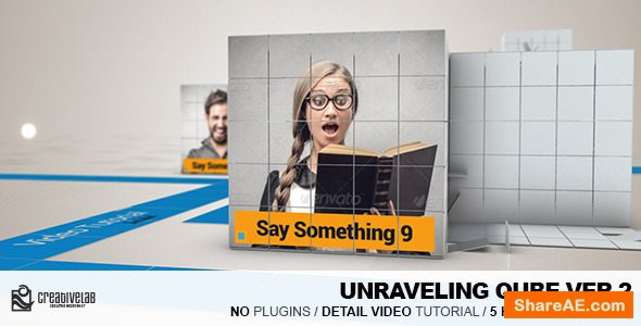 Videohive Unraveling Qube Ver.2