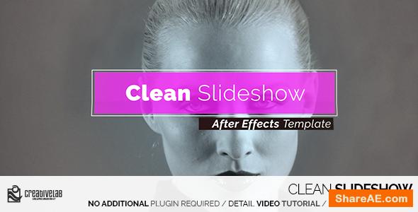 Videohive Clean Slideshow 14414348