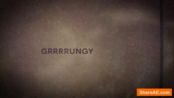 Videohive Grrrrungy