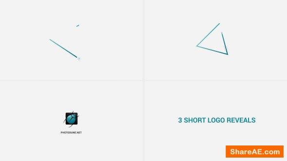 Videohive Short Logo Reveals