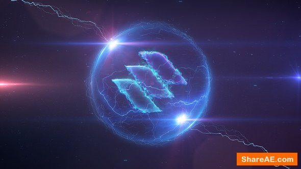 Videohive Space Storm Logo