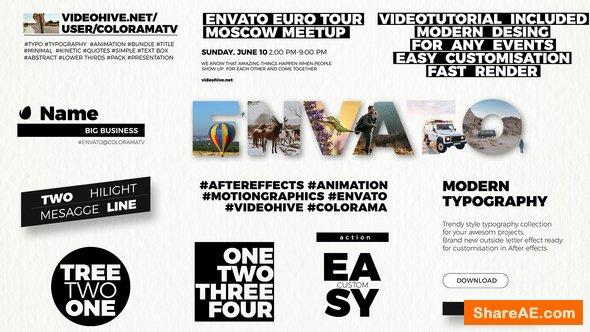 Videohive Modern Typography