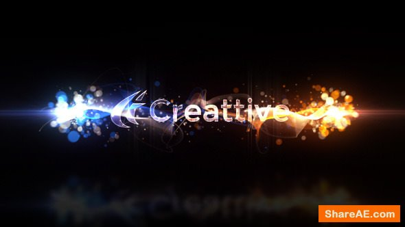 Videohive Particle Swish Reveal