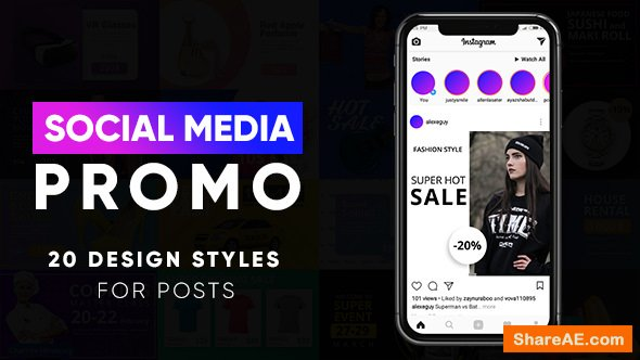 Videohive Instagram Stories and Posts