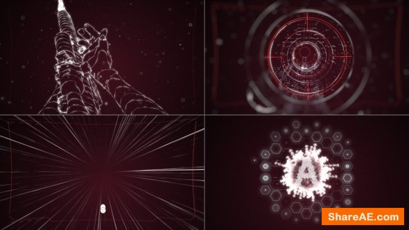 Videohive Gaming Intro. Shooter