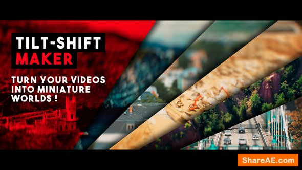 Videohive Tilt-Shift Maker