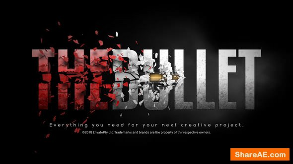 Videohive Bullet Reveal 22080667