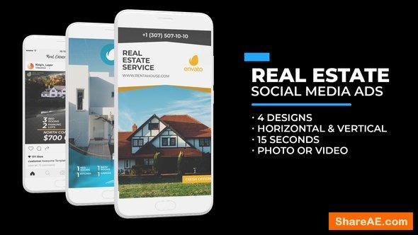 Videohive Real Estate Social Media Ads