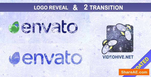 Videohive Freezing Logo and Transitions