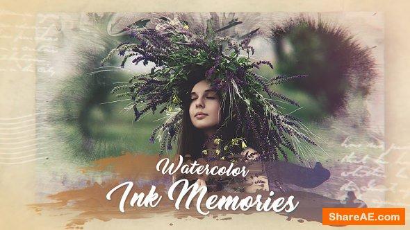 Videohive Watercolor Ink Memories