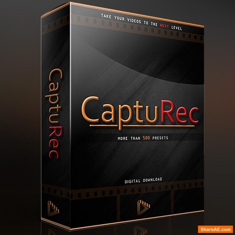 CaptuRec - MegaBundle - +500 LUTs (Win/Mac)