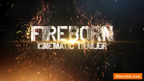 Videohive Fireborn Cinematic Trailer