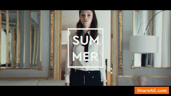 Videohive Fashion Intro 22075375